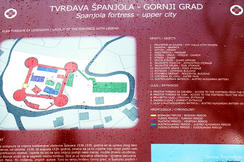 План крепости Шпаньола