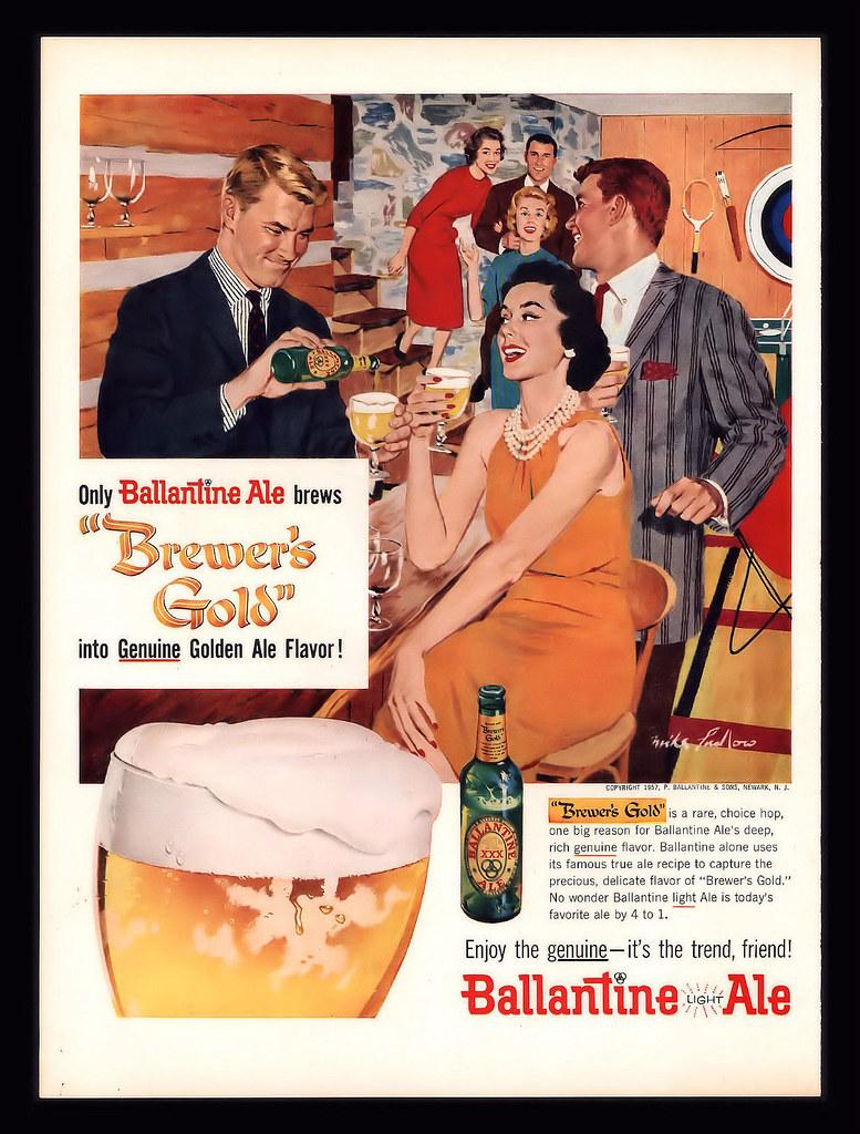 Ballantine-1957-party-time