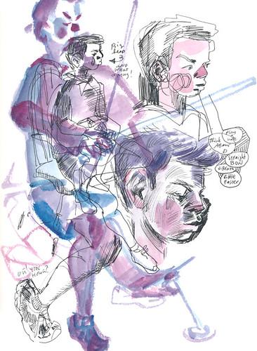 Sketchbook #113: Cello