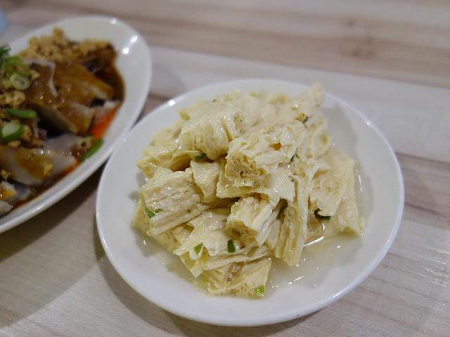 有花椒味的蔥拌腐竹 (NTD$40)@桃園一涴川麵廚坊