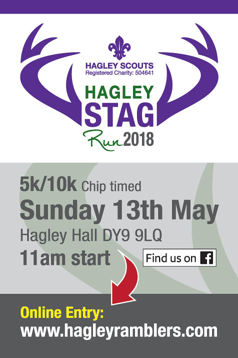 STAG RUN POSTER