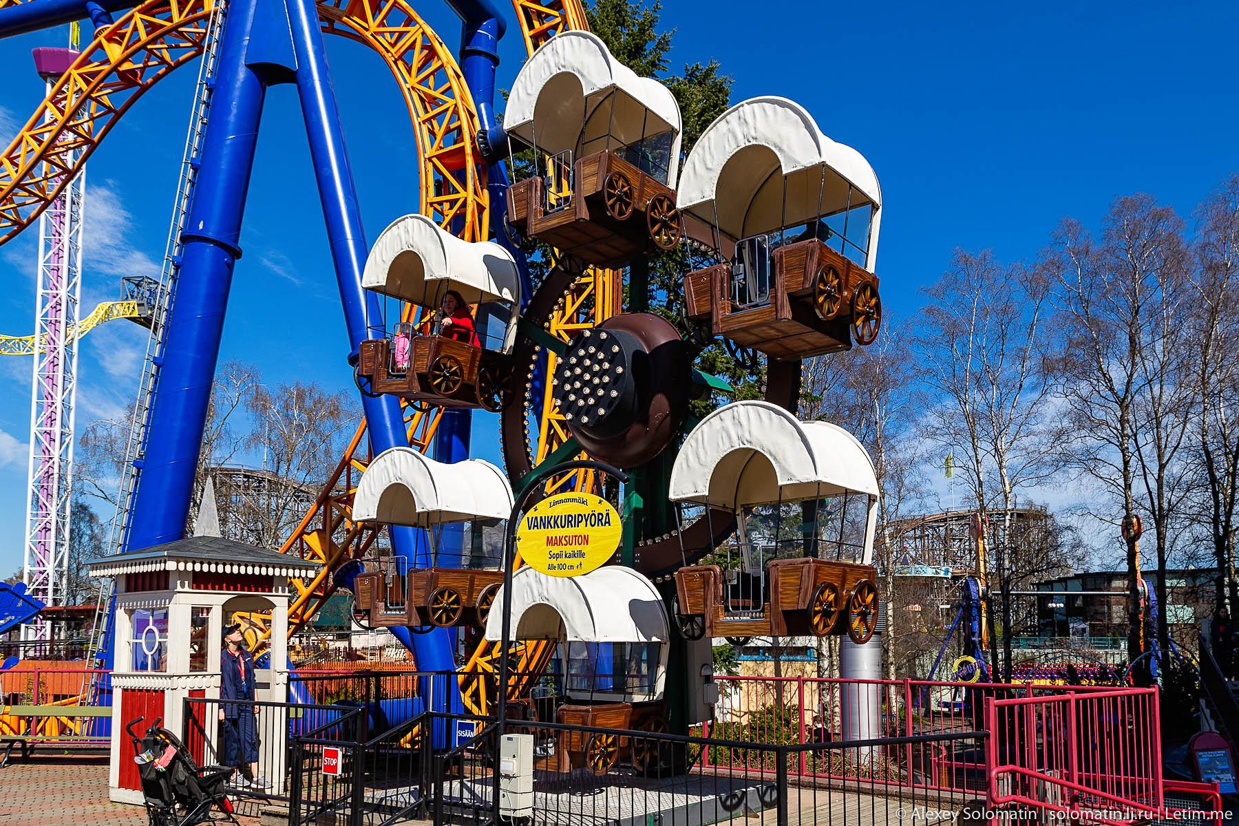 Парк развлечений Линнанмяки в Хельсинки парка, Линнанмяки, аттракционов, парке, аттракционы, Хельсинки, аттракцион, горки, находится, американские, детей, развлечений, метров, можно, этого, который, здесь, защиты, бесплатных, территории