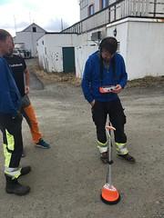 Kabel feilsøking på Leknes i Lofoten.