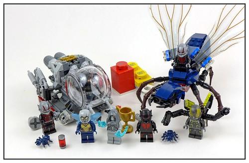 LEGO Marvel Superheroes 76109 Quantum Realm Explorers 53