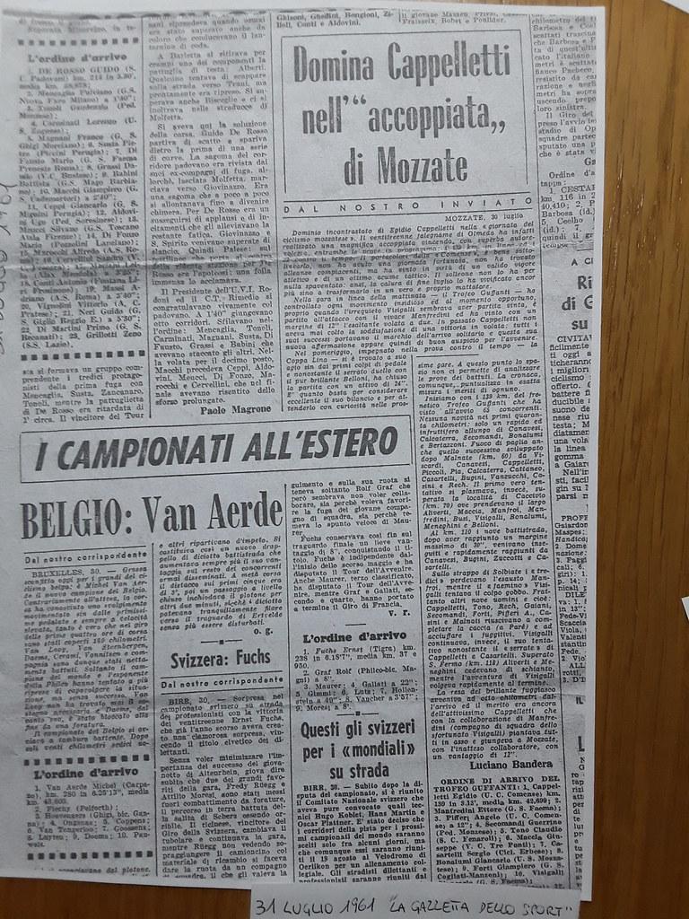 Dominio di Cappelletti a Mozzate (anno 1961) (materiale inviato dalla figlia Silvia)