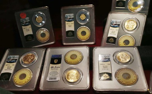 NRA Ship of Gold exhibit coins