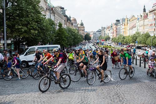 Velká jarní cyklojízda 2018 - jízda
