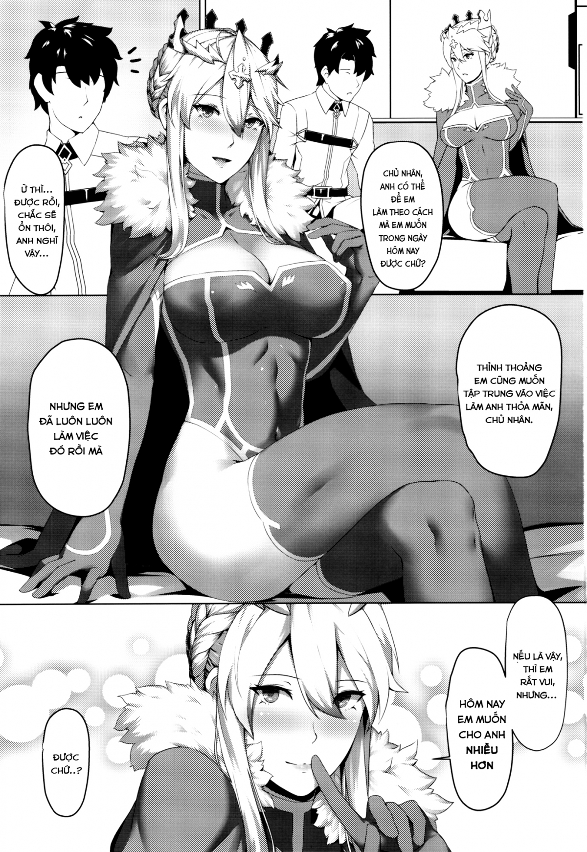 HentaiVN.net - Ảnh 2 - How do you like that! (Fate/Grand Order) - Oneshot