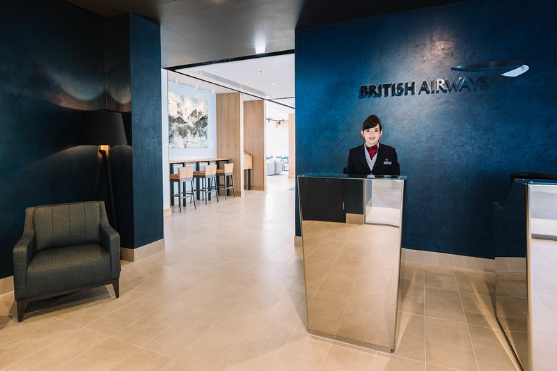 British Airways new Aberdeen lounge