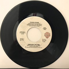 CHAKA KHAN:THROUGH THE FIRE(RECORD SIDE-A)