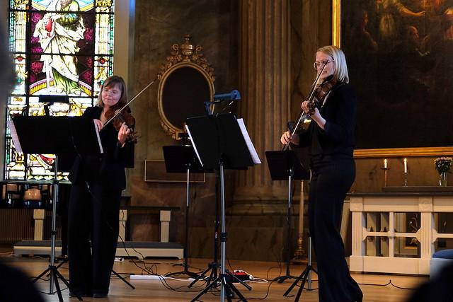 Ann Wallström och Nina Söderberg