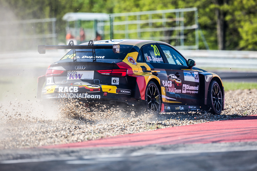 20 DUPONT Denis (BEL), Comtoyou Racing, Audi RS3 LMS, action during the 2018 FIA WTCR World Touring Car cup, Race of Hungary at hungaroring, Budapest from april 27 to 29 - Photo Thomas Fenetre / DPPI