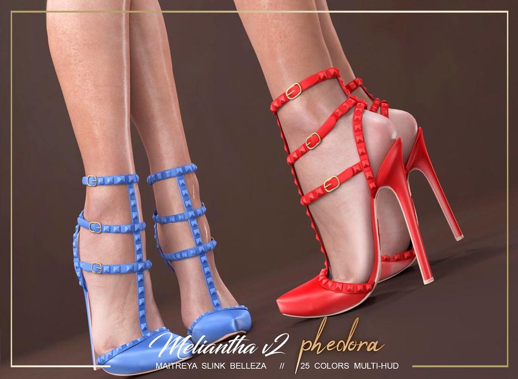 """Phedora for Kinky Event- """"Meliantha V2"""" heels ♥ - TeleportHub.com Live!"""