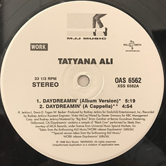 TATYANA ALI:DAYDREAMIN'(LABEL SIDE-A)