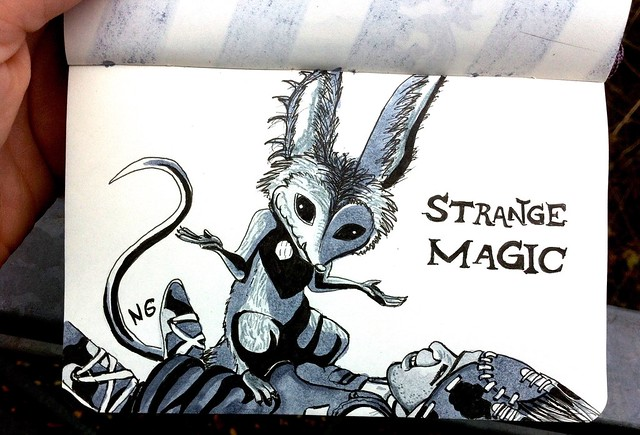 Strange Magic Movie, Apple iPhone 4, iPhone 4 back camera 3.85mm f/2.8