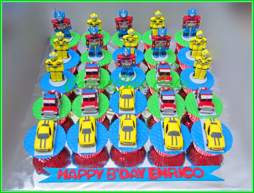 Cupcake Set The Transformers ENRICO