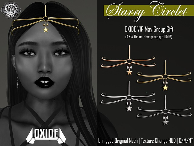 OXIDE Starry Circlet - May VIP Group Gift