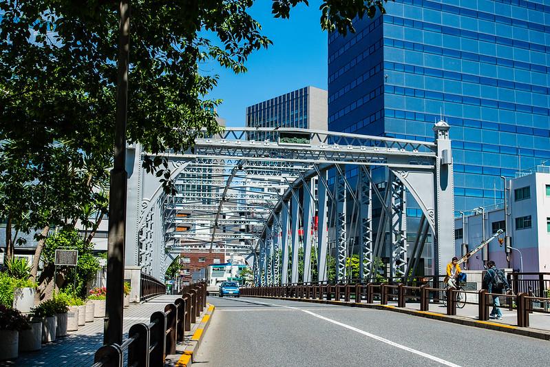 八丁堀の南高橋