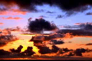 Sky on fire, Cozumel, Nikon D3100. DSC_0909
