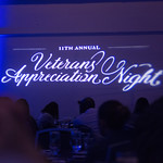 Veteran's Appreciation Night 2018