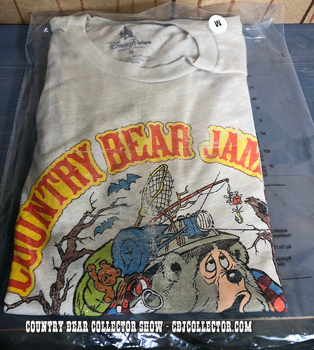 2018 Disney Parks Big Al Country Bear Jamboree Shirt - Country Bear Collector Show #147