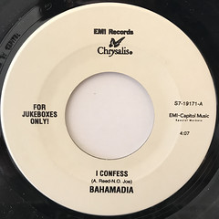 BAHAMADIA:I CONFESS(LABEL SIDE-A)