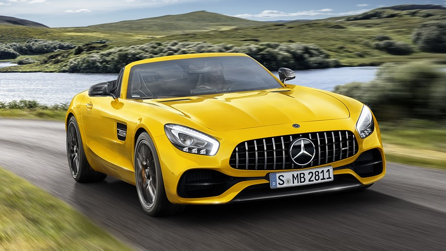 Mercedes-AMG GT S Roadster 1