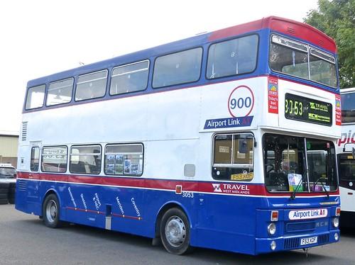 F53 XOF 'Travel West Midlands' No. 3053 '900 Airport Link' MCW DR102/64 Metrobus 2 on Dennis Basford's railsroadsrunways.blogspot.co.uk'