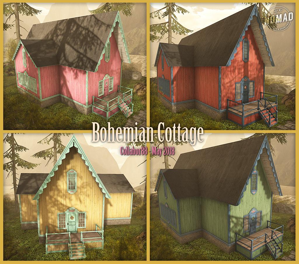 NOMAD // Bohemian Cottage C88 May '18 - TeleportHub.com Live!