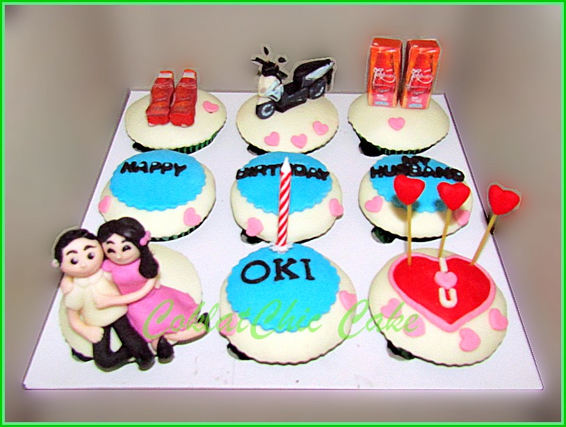 Cupcake set Couple