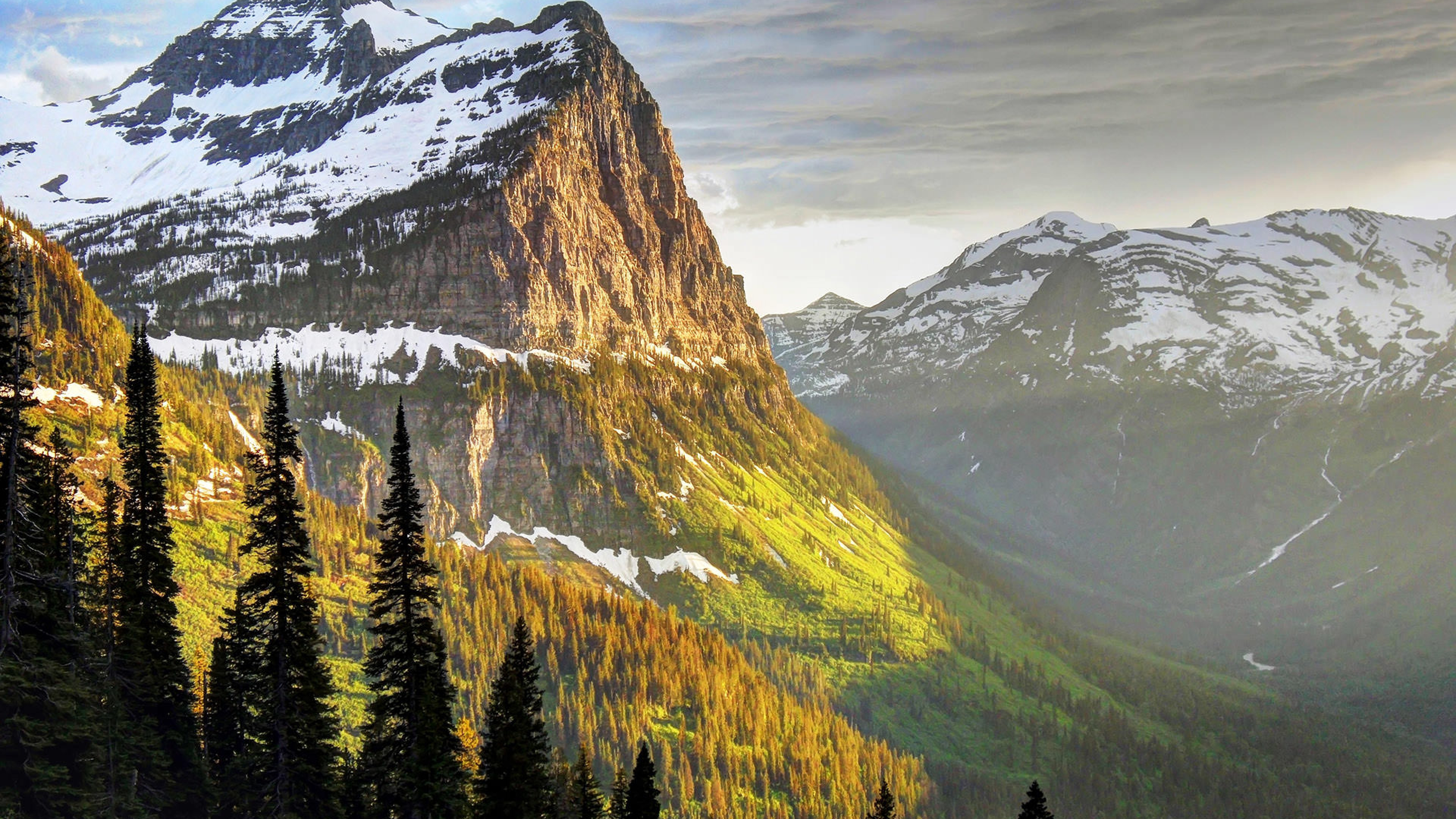 High country in Glacier National Park, Montana.