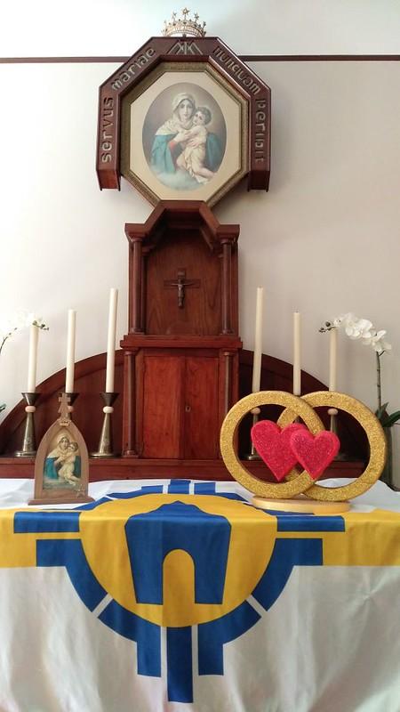 Aliança de Amor no Santuário Tabor Esmagadora da Serpente