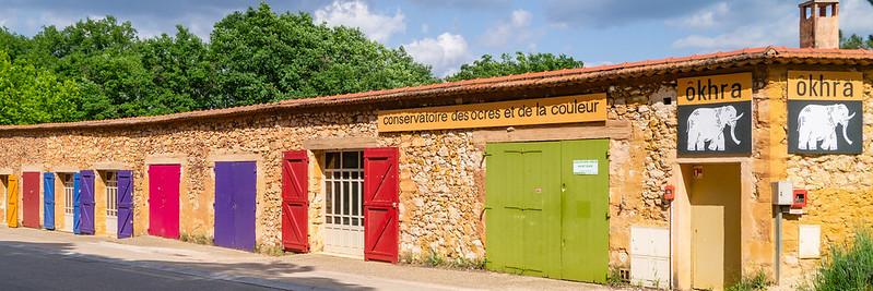 Ôkhra Conversatoire des Ocres, Roussillon