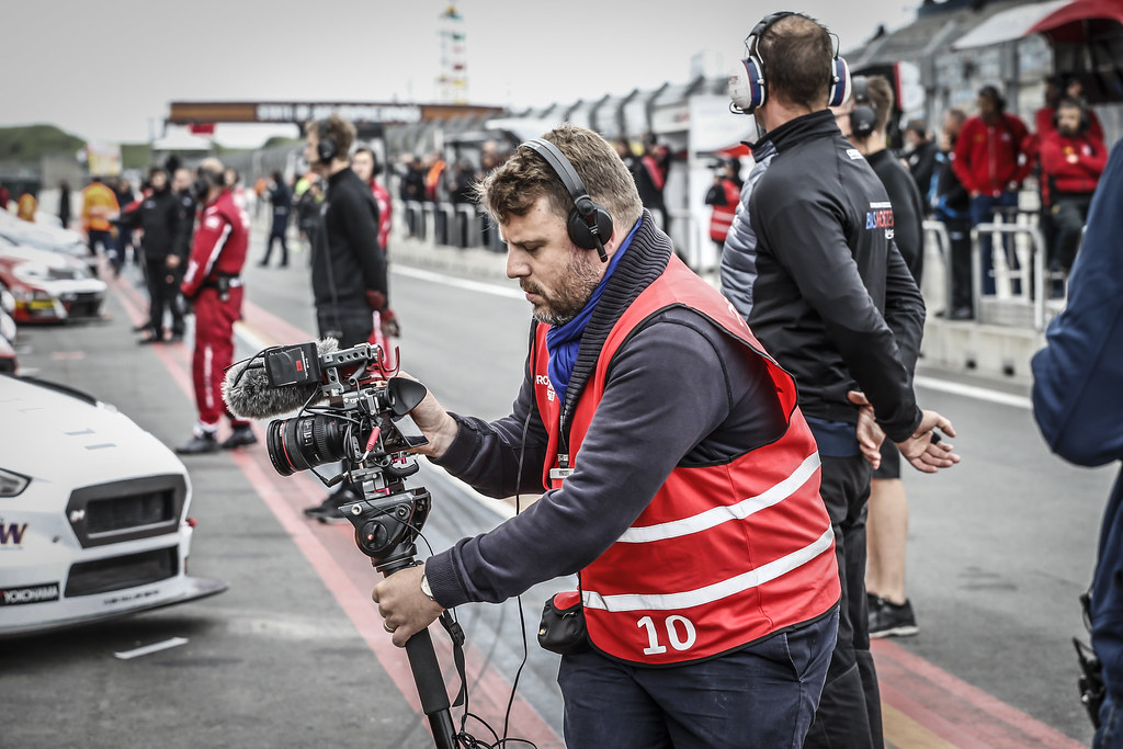 tv media during the 2018 FIA WTCR World Touring Car cup of Zandvoort, Netherlands from May 19 to 21 - Photo Francois Flamand / DPPI