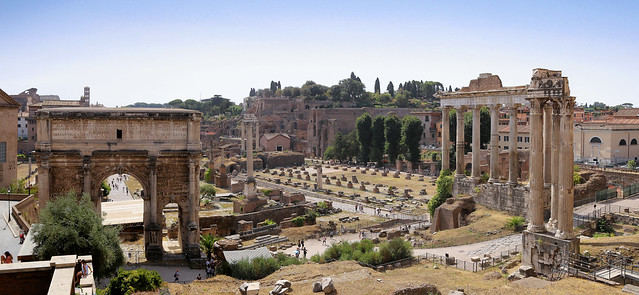 A walk in history at the Forum Romanum