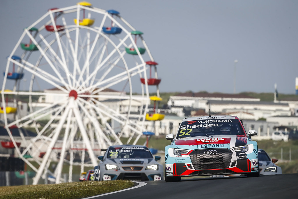 52 SHEDDEN Gordon, (gbr), Audi RS3 LMS TCR team Audi Sport Leopard Lukoil, action during the 2018 FIA WTCR World Touring Car cup of Zandvoort, Netherlands from May 19 to 21 - Photo Francois Flamand / DPPI