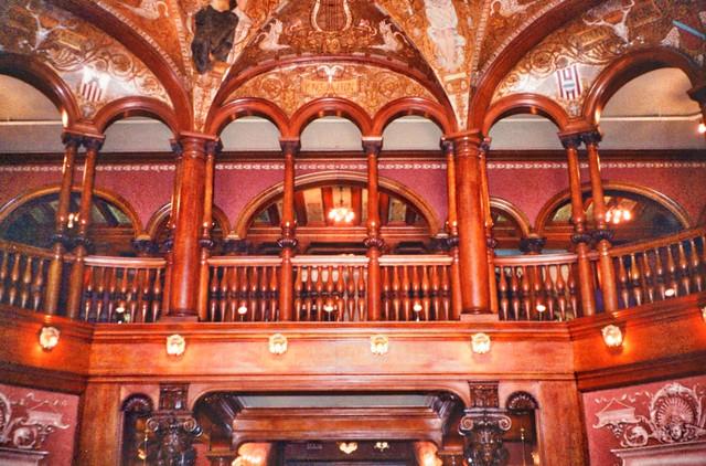 St Augustine  Florida - Ponce de Leon Hotel - Flagler College -  Lobby Area