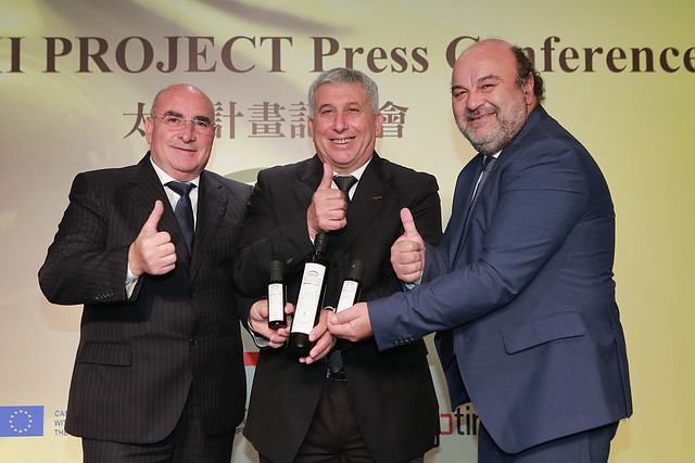 三大主席推廣太極計畫及特級初榨橄欖油