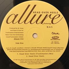 ALLURE:HEAD OVER HEELS(LABEL SIDE-A)