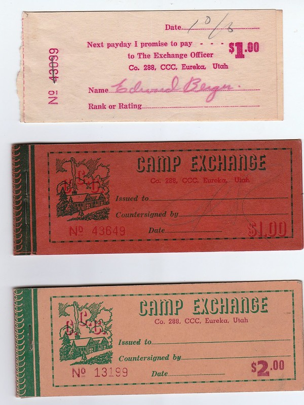 CCC Camp Exchange Coupons