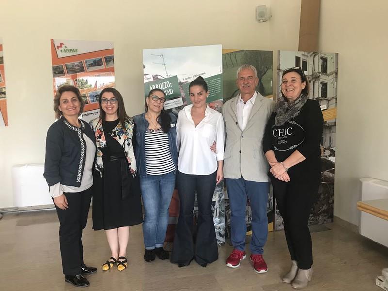 Adozioni: la visita della delegazione armena nella sede di Anpas