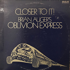 BRIAN AUGER'S OBLIVION EXPRESS:CLOSER TO IT!(JACKET A)