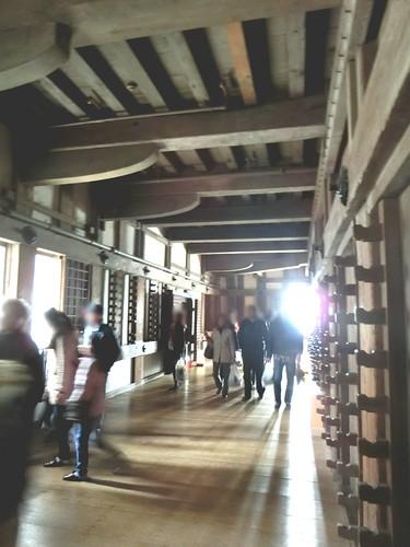 姫路城のなか