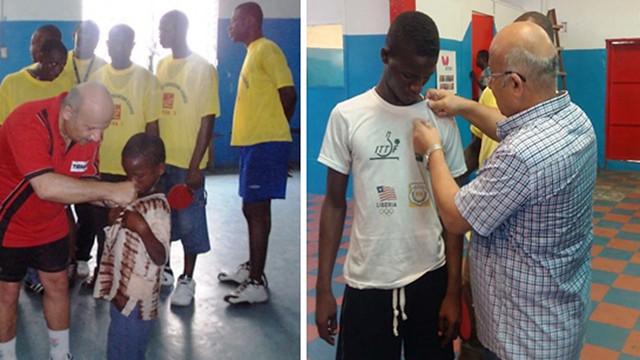 Liberia - 2018 ITTF-PTT Level 2 Coaching Course