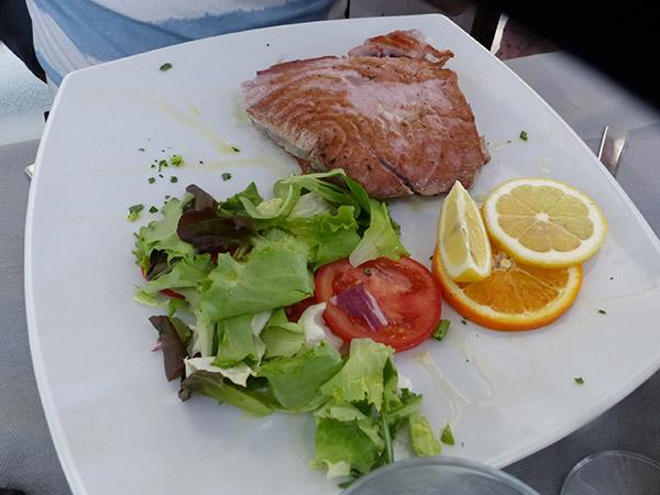 thon grillé