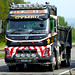 AJ17 DMJ - Volvo FMX 460 / 8x4 tipper -  D. & M. Jones & Son, Lloc, Holywell, Flintshire, North Wales.