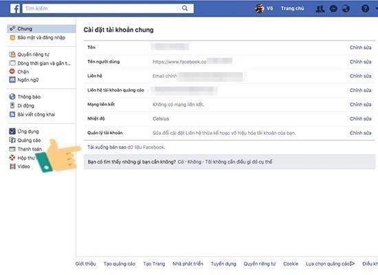 khôi phục tin nhắn facebook đã bị xóa hoàn toàn