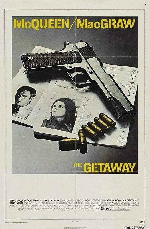 The Getaway - 1972 - Poster 1