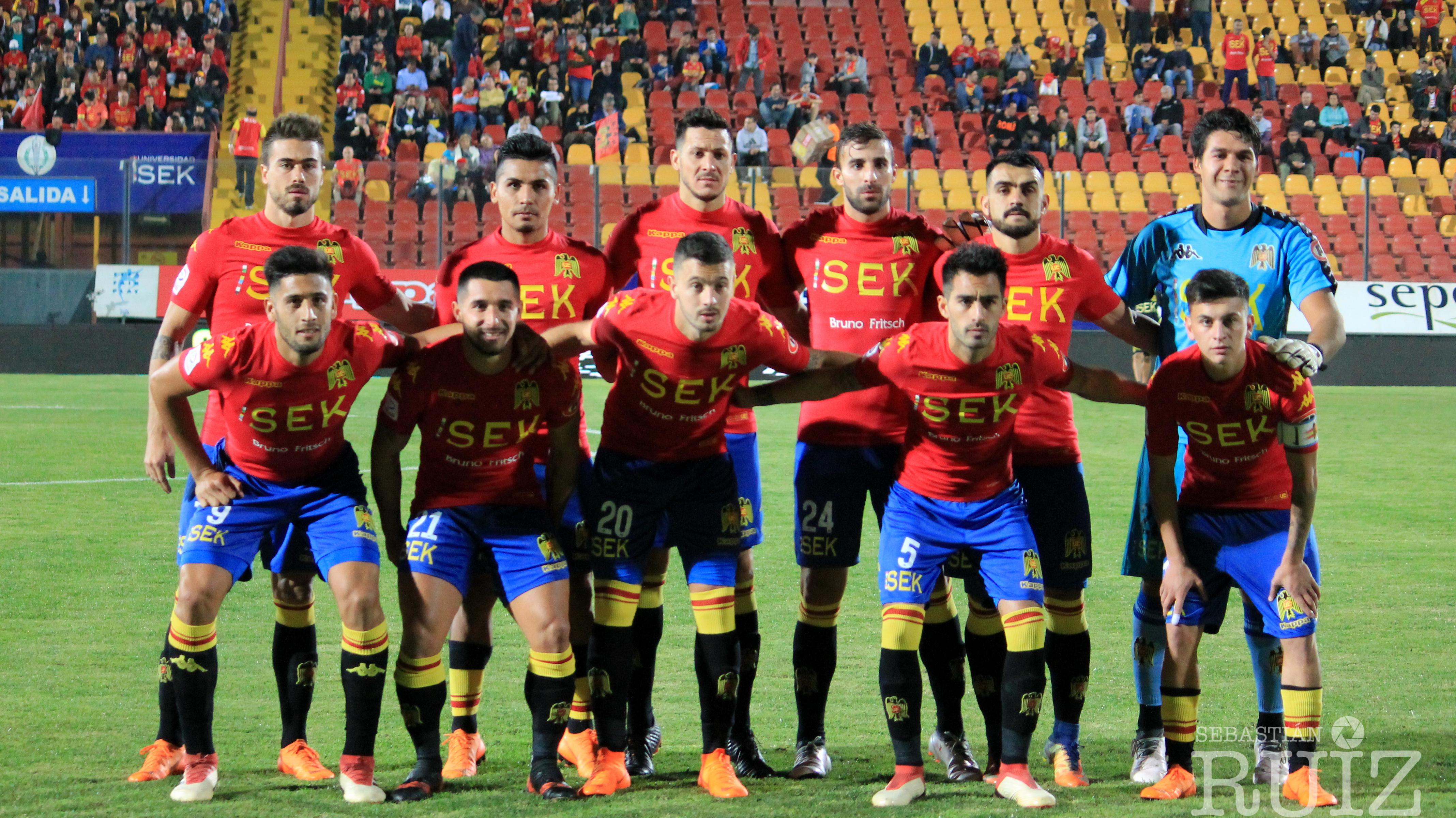 Unión Española 4 - San Luis 0
