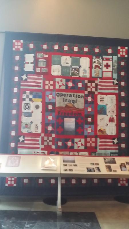 Operation Iraqi Freedom quilt at WIMSA